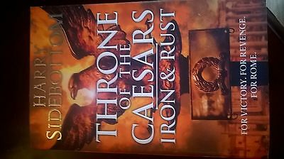 Iron and Rust (Throne of the Caesars, Book 1) by Harry Sidebottom (Hardback,...