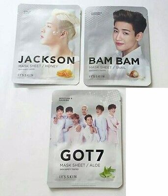 10 x GOT7 It's Skin sheet mask (KPOP merchandise)