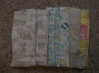 6 New Home Sewn Diaper Doublers – Lot #2