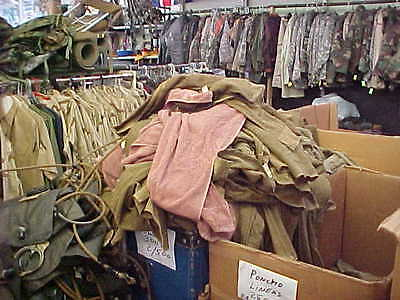 "Lot of 5 US Army Genuine Military Issue Brown Bath Towels 50"" x 24"""