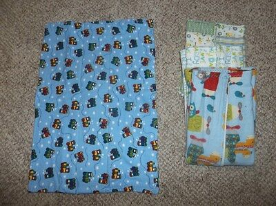 4 Size 6 – 24 Months New Homesewn Tri-Fold Cloth Diapers – Lot 2