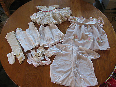 Lot of Vintage Assorted Baby Clothes