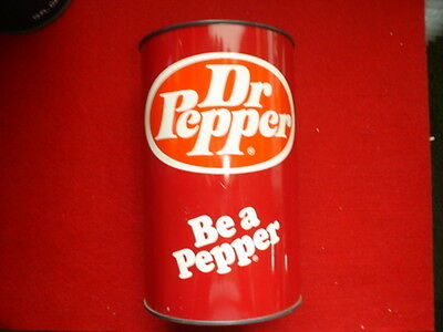 Dr Pepper  Soda Can Bank--For Your Pennies, Nickels, Dimes, Ect.