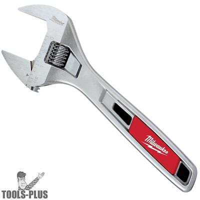 "8"" WIDE JAW Adjustable Wrench 1-1/2"" Opening Milwaukee 48-22-7508 New"