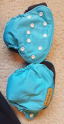 2 Bale & Jesse newborn AIO cloth diapers w/ pocket for extra absorbency - EUC