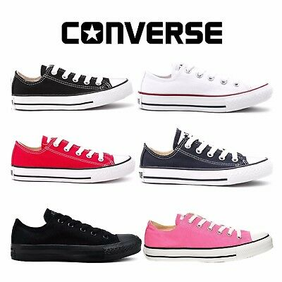 New Converse Chuck Taylor All Star Low Tops Mens Womens Unisex Canvas Trainers