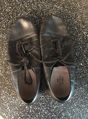 Girls Youth Jazz Shoes Size 3 Gently Used