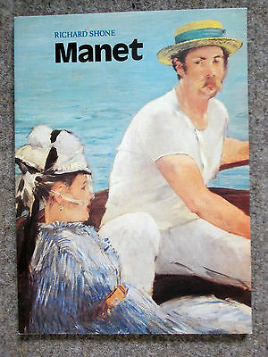 Manet - a paperback book on the artist by Richard Shone