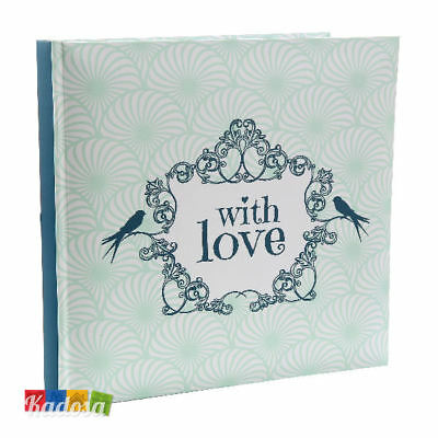 Guest Book Romantic Green 22 Pag Bianche - Wedding Libro Firme Ospiti Matrimonio