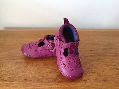 Clarks Girls First Shoes Size 3.5 F