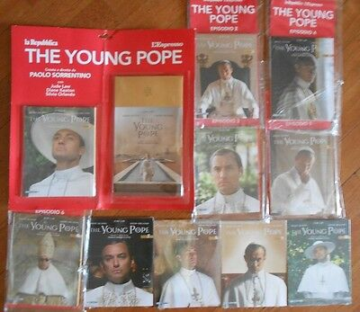 The young Pope cofanetto completo 10 dvd PP/102