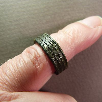 Ancient Genuine Celtic Bronze Ring - Artifact ca.1st/2nd Century BC