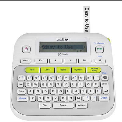 Brother P-Touch PT-D210 Label Maker Labeler New