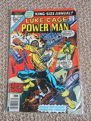 Power Man King size Annual science fiction comic