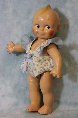"""Cute as a Button 13"""" Cameo Composition Doll Rose O'Neill c.1925 NICE!"""