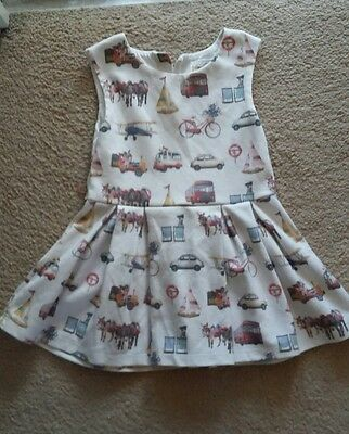 Next Gorgeous Baby Girls summer dress fab condition  12-18 Months