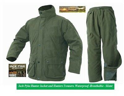 Jack Pyke Hunters Green Jacket or Trousers. Hunting, Shooting, Beating.