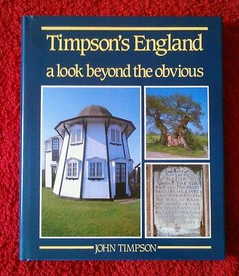 Timpson's England A Look Beyond the Obvious First Edition Hardback