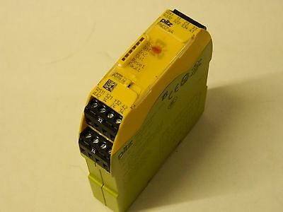 Pilz PNOZ S4 24VDC 3n/o 1n/c Safety Relay