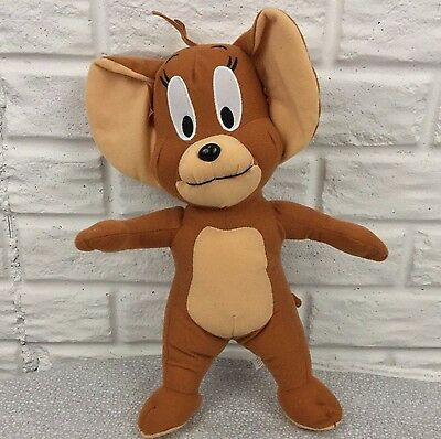 "TOM AND JERRY 13"" Stuffed Animal Plush Brown JERRY the MOUSE Toy Factory no Tom"