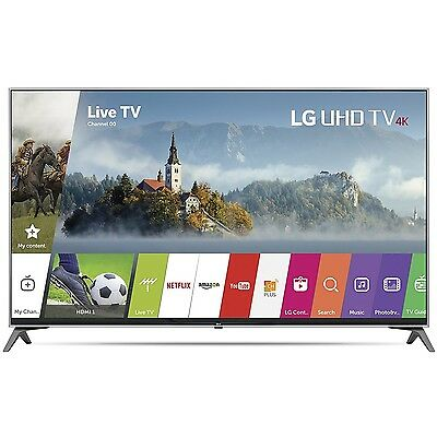 LG 55UJ7700 - 55-inch Super UHD 4K HDR Smart LED TV (2017 Model)