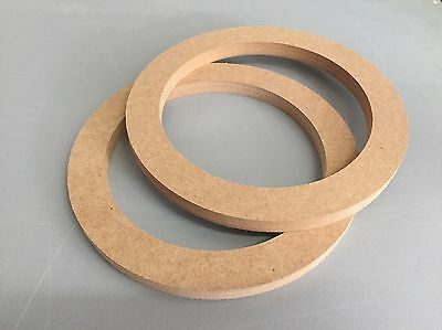 "16mm MDF Ring 165mm 6,5"" 16,5cm Holzring Montagering Lautsprecher Adapter CNC"
