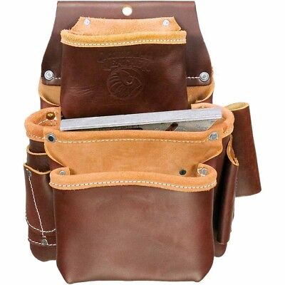 Occidental Leather 5060 Deep Fastener Bag with Holders 3 Pouch New