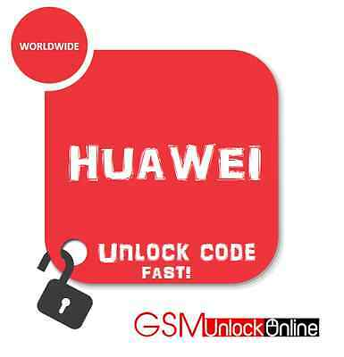 Huawei Ascend Y600 Y520 Y511 Unlock Code Pin Fast Unlocking Service Any Carrier
