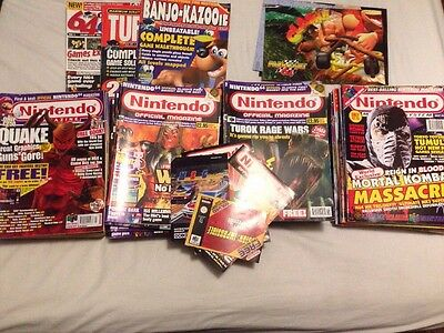 Massive Collection Of Classic Nintendo 64 Magazines (55 Magazines In Total)