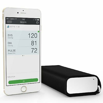 QardioArm Wireless Blood Pressure Monitor Apple iOS and Android Color White