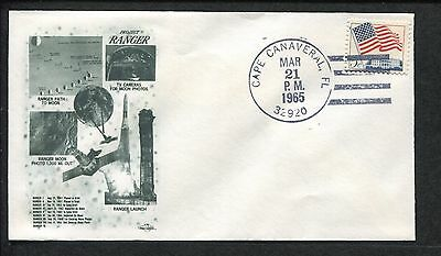 USA NASA Project Ranger 1965 Cape Canaveral Florida Space First Day Cover