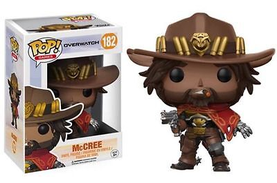 Funko POP! Games McCree Overwatch Vinyl Figure Blizzard in Stock w/PROTECTOR!!!