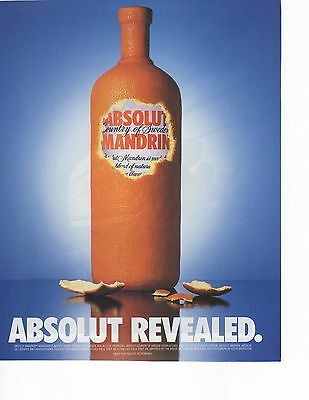 Absolut Vodka Revealed Magazine Ad