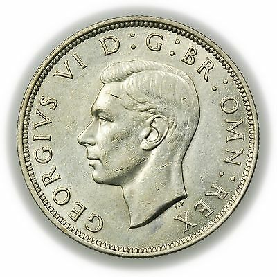 Great Britain KM#856 1943 Half Crown, World Coin, George VI [3127.40]