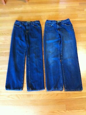 LOT OF TWO OLD NAVY BOYS BlLUE JEANS SIZE 16