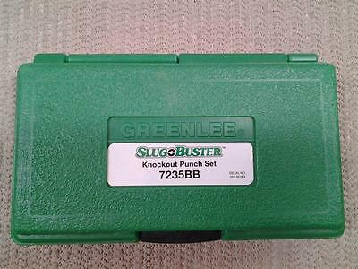 """GREENLEE""  #7235BB - Slug Buster - Knockout Punch Set - NEW"
