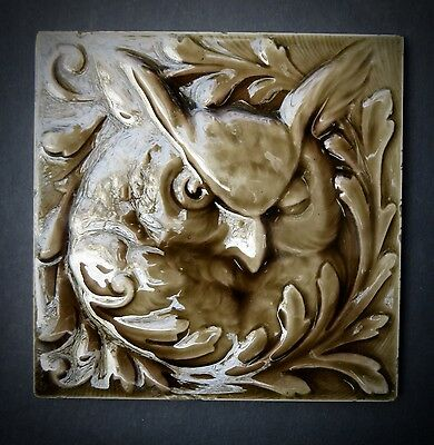 Owl Tile Antique
