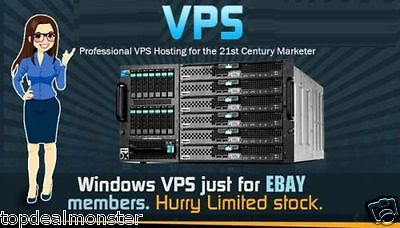 Virtual Private Server+Windows VPS/ Linux VPS+1GB to 8GB RAM+75GB to 450GB HDD