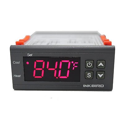 Inkbird ITC-1000 12V Digital Temperature Controller F&C Thermostat heating cool