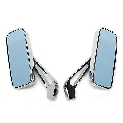 8/10MM CHROME REAR VIEW MIRRORS FOR HARLEY Motorcycle/Choppers/Crusiers/Touring