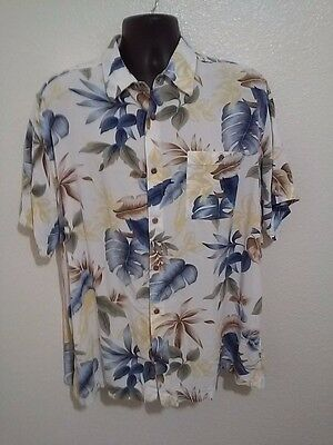 26e5a027 David Taylor Button Down Hawaiian Shirt Grey Black Floral Print Cream Men's  3XL. $12.99 Buy It Now 13d 0h. See Details. David Taylor Collection Men's  XL ...