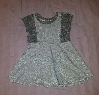 VGUC Baby Gap Girl Clothes 12-18 Months One Piece Short Sleeve Knit Dress