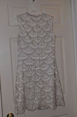 Vintage 60s Party Dress with Rhinestone Collar