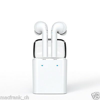 Wireless Bluetooth Airpods with microphone For iPhone 7 and all Smartphones