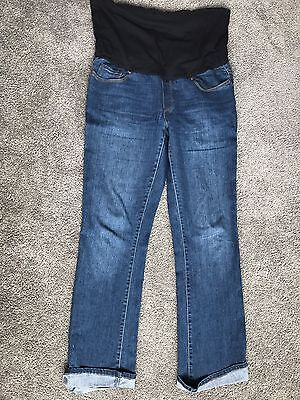 Preagnancy Jeans And Shirt Size 10-12 Maternity Pants Clothes