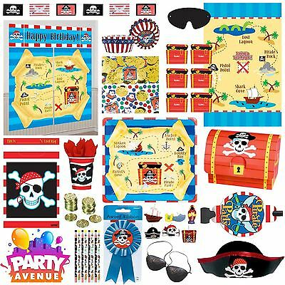 Pirate Birthday Party Decorations Balloons Favours Tableware