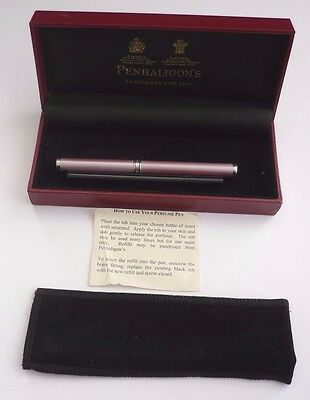 Unused Penhaligons Of London Enamel Perfume Pen With Spare Refill