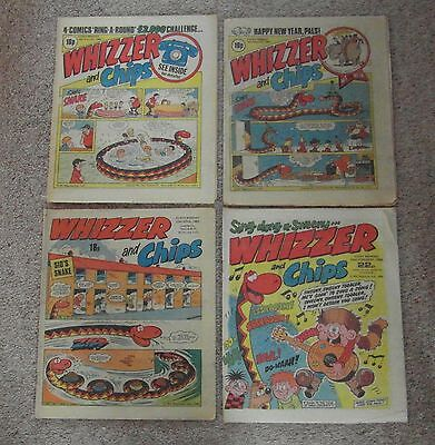 4 Whizzer and Chips 1982 1983 1986 Fair