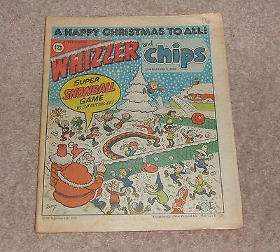 Whizzer and Chips Christmas Issue 27th December 1980