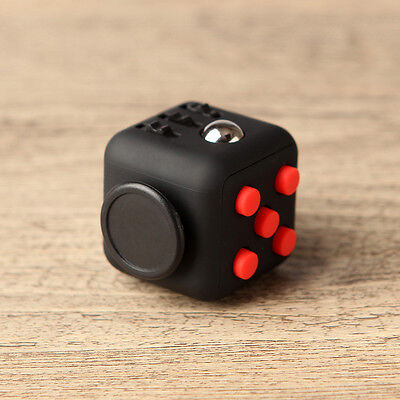 Fidget Cube Children Kids Desk Toy Adults Stress Relief ADHD Toy with Gift Box